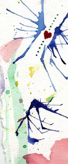water color abstractions by nadine may lewis