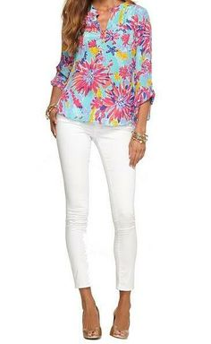 Lilly Pulitzer Resort '13- Delray Tunic in Aqua Trippin and Sippin