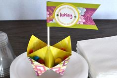 Fun party favor using Be Young Additions and Stamper System from Creative Memories.  http://www.creativememories.com
