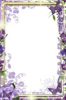 32 frames PNG flores | Central Photoshop