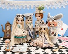 5 Doll Set Romantic Alice Series Pullip Taeyang Isul Byul DAL King Queen Rabbit | eBay