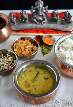 Varan Bhaat Recipe | Arhar Dal Chawal | Ganesh Chaturthi Recipes   Everyday dal/lentil recipe of Arhar/Tuvar/Toor or Pigeon Peas with steamed rice also served as bhog during Ganesh Chaturthi