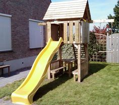 Kids Backyard Playground, Backyard For Kids, Castle Playhouse, Jungle Gym, Back Gardens, Outdoor Play, Play Houses, Home Projects, Husband