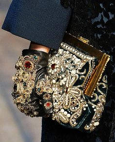 50 Standout Accessories From Fall 2014 New York, London, Milan, and Paris Fashion Weeks - Dolce & Gabbana from #InStyle