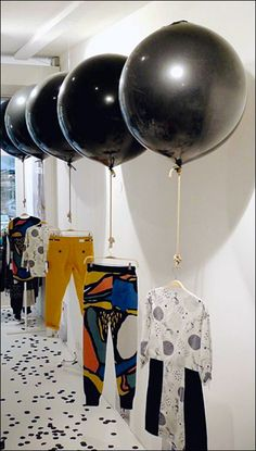 Visual Merchandising Balloons Lift Sales