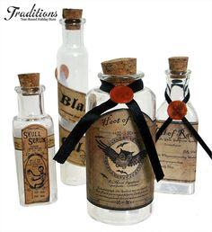 potions bottles