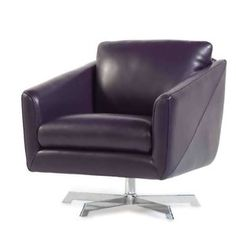 You need to buy Hieu Top Grain Contemporary Swivel Leather Armchair