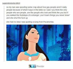 Oh Disney!^^^ perfect use of both a Disney song AND Pocahontas's face Disney And Dreamworks, Disney Pixar, Walt Disney, Disney Au, Tumblr Funny, Funny Memes, Hilarious, Funny Quotes, Funny Songs