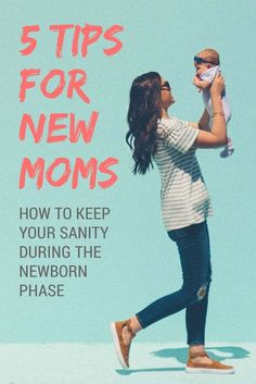 Life saving self-care tips for new moms. Taking care of your newborn baby can be a shocking experience. Read these 5 tips for keeping your sanity as a new mom.