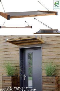 marquise clairante contemporaine sur mesure devis et pose menuiseries ext rieures porte d. Black Bedroom Furniture Sets. Home Design Ideas