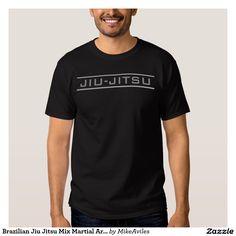 Brazilian Jiu Jitsu Mix Martial Art. Tee Shirt