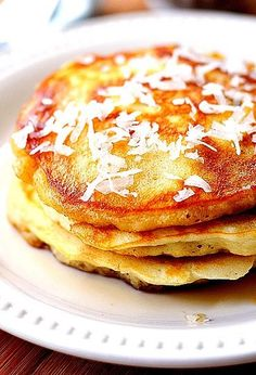 Delicious Coconut Pancakes Recipe