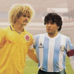 Three FIFA legends pick Diego Maradona as their favourite - Sportskeeda Legends Football, Football Icon, Retro Football, Football Kits, Vintage Football, Nike Football, Carlos Valderrama, Soccer World, World Football