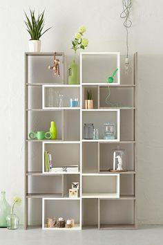 Woom kast grijs eiken wit http://www.woom-design.nl/