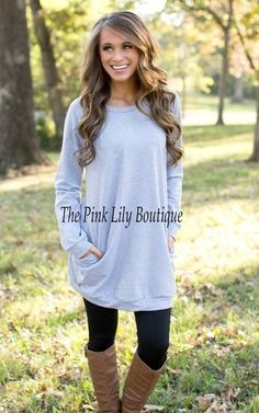 tunic styles tops with leggings