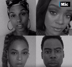 Touching - Top Celebrities share ways balck can killed    Alicia Keys Beyoncé Rihanna Chris Rock Pink Janelle Monae Taraji P. Henson Bono Swizz Beatz are among the stars to contribute to Mics video listing the 23 reasons why black Americans have been killed particularly in recent years since the launch of the Black Lives Matter movement. The moving PSA comes just a week after the fatal shootings of Alton Sterling and Philando Castille.  Sterling a father of five was 37 when he was gunned…
