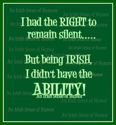 An Irish Sense of Humor Irish Jokes, Irish Proverbs, Irish American, American Women, American Art, American History, Irish Eyes Are Smiling, Irish Pride, Irish Girls