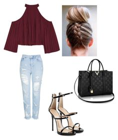 """day on the town #54"" by madison-kohut on Polyvore featuring W118 by Walter Baker, Topshop and Giuseppe Zanotti"