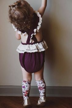 Love toddler knee highs so much!
