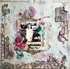 Hello Friends! Today I have another layout to share featuring the August kit from Scraps of...