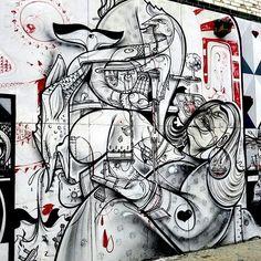 The world's street artists #urbanart #graffitiart #streetartists #murals #hownosm