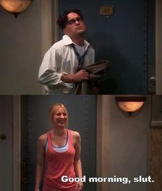 Leonard's walk of shame TBBT Big Bang Theory Show, Big Bang Theory Funny, Awkward Moments, Funny Moments, Tbbt, Chuck Lorre, Great Comedies, Walk Of Shame, Nerd Love