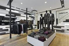 Agence : Costa Imaginering Projet : Celio*CLUB flagship store Paris Architecte : Dimitri Vronsky