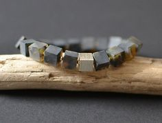 Amber For Men / Guy Amber Bracelet Night Black Mens by KARUBA
