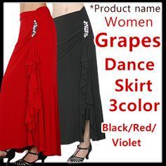 Latin Salsa Jive Ballroom Dance skirt/Di-sk0270