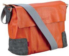 Bugatti Bags Race Messenger Bag, Querformat, medium, Unisex-Erwachsene Messengertaschen, Orange (Orange 51), 37x26x11 cm (B x H x T) - http://herrentaschenkaufen.de/bugatti-3/orange-orange-51-bugatti-bags-race-messenger-bag-b