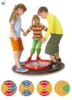Balancescheibe fördert spielerisch die #Bewegungskoordination, das #Gleichgewicht und die #Konzentration. https://shop.wehrfritz.de/de_DE/Balancescheiben-Set-Balancierelemente-Schule-and-Hort/p/055771_1?zg=schule_hort&ref_id=60847 #Kinder #Bewegung #Sport #Spass