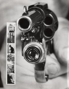 Revolver Camera That Shot Bullets and Photos at the Same Time