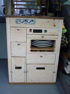 minik che k chenblock neu vw bus t2 t3 t4 t5 k che campingk che k chenmodul in auto motorrad. Black Bedroom Furniture Sets. Home Design Ideas
