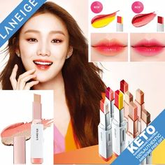 [S$19.90](▼5%)[LANEIGE] laneige 口红/New Color 2016.Mar/two tone lip bar/Two Tone Lip Bar/Two Tone Shadow Bar/Lip Sleeping Mask/pure radiant shadow/gradiant shadow makeup/pure radiant blusher/natural shading cheek Blusher Makeup, Skin Makeup, Natural Body Scrub, Lip Sleeping Mask, Lip Bars, Laneige, Sleep Mask, Skin Care Tips, Lipstick