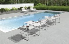 All that is missing is your favourite book and a cold beverage to compliment this lounging experience!  #SummerStyle  http://hauserstores.com/collections/pool-casual-contempo