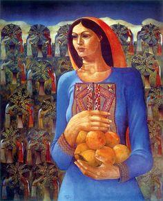 Sliman Mansour, Palestine: - 1981