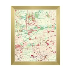 Click Wall Art 'Hazy Twister' Framed Painting Print Size: