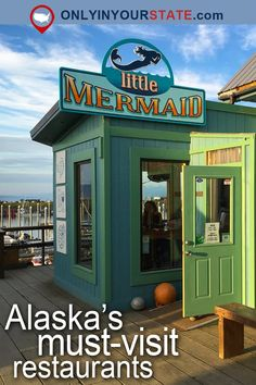 Travel | Alaska | Attractions | USA | Foodie | Delicious | Dining | Restaurants | Places To Eat | Bucket List | Day Trips | Things To Do | Alaska Restaurants | Bake Shop | Places To Stay | Desserts | Cafe | Outdoor Dining | Waterfront | Winery