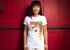 """BLACK LIPS"" - Threadless.com - Best t-shirts in the world"