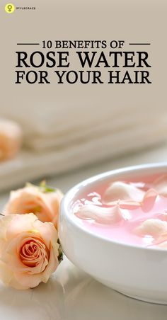 Have you been searching for something really effective in enhancing the health of your hair and scalp? Then its high time you consider rose water for hair, surprised?