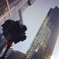 An awesome Virtual Reality pic! #VRability rig explored new location in the heart of Moscow City. Vertical lines of skyscrapers might be a really interesting tool to improve impressions from VR experience! #vr #vr360 #virtualreality #360video #goprohero4 #moscow #skyscriper by vrability check us out: http://bit.ly/1KyLetq