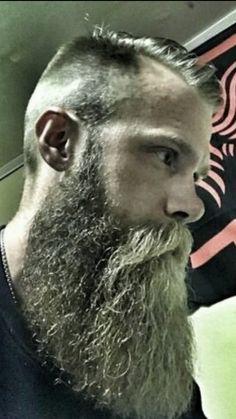 Haircut men hipster awesome 31 New Ideas Moustache, Beard No Mustache, Trendy Mens Haircuts, Haircuts Straight Hair, Short Haircuts, Grey Beards, Long Beards, Long Beard Styles, Hair And Beard Styles