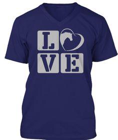 Love Horse Navy T-Shirt Front