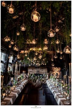Magical setting at Upperhouse.. Forest Wedding Reception, Rustic Forest Wedding, Wedding Reception Dresses, Winter Wedding Venue, Rustic Wedding Theme, Winter Wedding Destinations, Camping Wedding Theme, Tree Themed Wedding, Barn Wedding Flowers