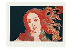 Details of Boticelli's Birth of Venus, c.1984 Art Print at AllPosters.com