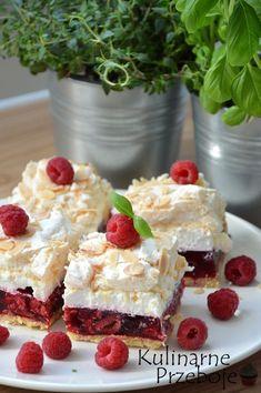 Best Cake Recipes, Sweet Recipes, No Bake Desserts, Dessert Recipes, Sweet Bakery, Just Cakes, Polish Recipes, Dessert For Dinner, Special Recipes
