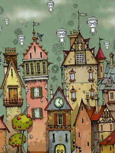 Storybird - Artful storytelling online- click through the art to.go to Storybird online Art Lessons For Kids, Art For Kids, Guache, Building Art, House Drawing, Wow Art, Whimsical Art, Worlds Of Fun, Doodle Art