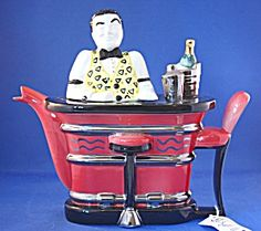 Now here's an unusual item! Swineside Bartender Teapot http://www.tias.com/swineside-bartender-teapot-679792.html