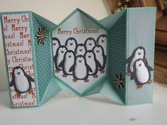 Stampin Up Snow Place. The penguins are coming.......