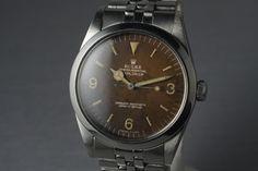 1965  Rolex Explorer 1 1016 with Gilt Tropical Dial
